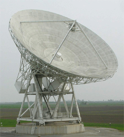 The VLBI antenna parabolic reflector