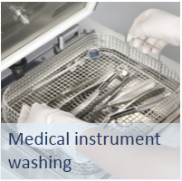 ultrasonic medical instrument washing