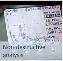 ultrasonic non-destructive analysis